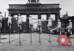 Image of Unicyclists Berlin Germany, 1930, second 28 stock footage video 65675026884