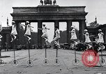 Image of Unicyclists Berlin Germany, 1930, second 31 stock footage video 65675026884