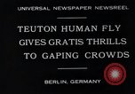 Image of dangerous performance Berlin Germany, 1930, second 3 stock footage video 65675026888