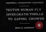 Image of dangerous performance Berlin Germany, 1930, second 4 stock footage video 65675026888