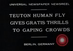 Image of dangerous performance Berlin Germany, 1930, second 5 stock footage video 65675026888