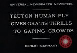 Image of dangerous performance Berlin Germany, 1930, second 6 stock footage video 65675026888