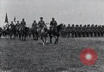 Image of Generals inspecting U.S.3rd  Army troops France, 1918, second 1 stock footage video 65675026889