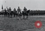 Image of Generals inspecting U.S.3rd  Army troops France, 1918, second 2 stock footage video 65675026889
