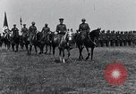 Image of Generals inspecting U.S.3rd  Army troops France, 1918, second 3 stock footage video 65675026889