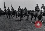 Image of Generals inspecting U.S.3rd  Army troops France, 1918, second 6 stock footage video 65675026889