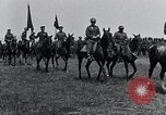 Image of Generals inspecting U.S.3rd  Army troops France, 1918, second 7 stock footage video 65675026889