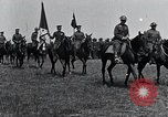Image of Generals inspecting U.S.3rd  Army troops France, 1918, second 8 stock footage video 65675026889