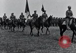 Image of Generals inspecting U.S.3rd  Army troops France, 1918, second 9 stock footage video 65675026889