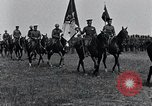 Image of Generals inspecting U.S.3rd  Army troops France, 1918, second 10 stock footage video 65675026889