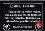 Image of coal gas used  as fuel for motor vehicles Great Britain, 1918, second 1 stock footage video 65675026891