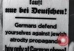 Image of Anti-Jewish activities Germany, 1933, second 8 stock footage video 65675026898
