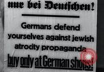 Image of Anti-Jewish activities Germany, 1933, second 10 stock footage video 65675026898
