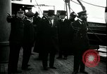 Image of Woodrow Wilson Brest Harbour France, 1918, second 10 stock footage video 65675026929