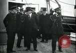 Image of Woodrow Wilson Brest Harbour France, 1918, second 11 stock footage video 65675026929