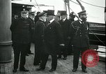 Image of Woodrow Wilson Brest Harbour France, 1918, second 12 stock footage video 65675026929