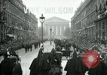 Image of Woodrow Wilson Paris France, 1918, second 2 stock footage video 65675026935