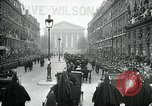 Image of Woodrow Wilson Paris France, 1918, second 3 stock footage video 65675026935