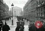 Image of Woodrow Wilson Paris France, 1918, second 4 stock footage video 65675026935