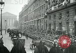 Image of Woodrow Wilson Paris France, 1918, second 6 stock footage video 65675026935