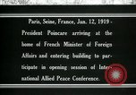 Image of Raymond Poincare Paris France, 1918, second 1 stock footage video 65675026948