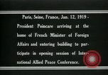 Image of Raymond Poincare Paris France, 1918, second 4 stock footage video 65675026948