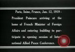 Image of Raymond Poincare Paris France, 1918, second 5 stock footage video 65675026948