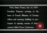 Image of Raymond Poincare Paris France, 1918, second 8 stock footage video 65675026948