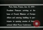 Image of Raymond Poincare Paris France, 1918, second 10 stock footage video 65675026948
