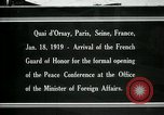 Image of french Guard of Honor Paris France, 1919, second 1 stock footage video 65675026949