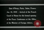 Image of french Guard of Honor Paris France, 1919, second 2 stock footage video 65675026949