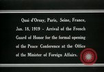 Image of french Guard of Honor Paris France, 1919, second 3 stock footage video 65675026949