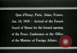 Image of french Guard of Honor Paris France, 1919, second 8 stock footage video 65675026949