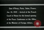 Image of french Guard of Honor Paris France, 1919, second 9 stock footage video 65675026949