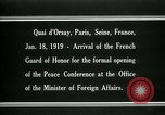 Image of french Guard of Honor Paris France, 1919, second 10 stock footage video 65675026949