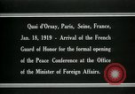 Image of french Guard of Honor Paris France, 1919, second 11 stock footage video 65675026949