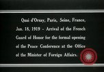 Image of french Guard of Honor Paris France, 1919, second 12 stock footage video 65675026949