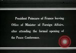 Image of Raymond Poincare Paris France, 1919, second 1 stock footage video 65675026952