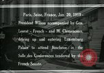 Image of Woodrow Wilson Paris France, 1919, second 1 stock footage video 65675026953