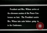 Image of Woodrow Wilson Paris France, 1919, second 3 stock footage video 65675026955