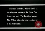 Image of Woodrow Wilson Paris France, 1919, second 4 stock footage video 65675026955