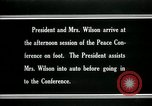 Image of Woodrow Wilson Paris France, 1919, second 6 stock footage video 65675026955