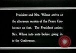 Image of Woodrow Wilson Paris France, 1919, second 9 stock footage video 65675026955