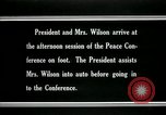 Image of Woodrow Wilson Paris France, 1919, second 10 stock footage video 65675026955