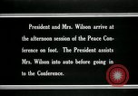 Image of Woodrow Wilson Paris France, 1919, second 12 stock footage video 65675026955