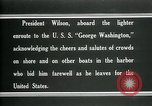 Image of Woodrow Wilson Brest France, 1919, second 10 stock footage video 65675026961