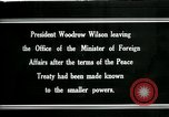 Image of Woodrow Wilson Paris France, 1919, second 1 stock footage video 65675026971