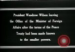 Image of Woodrow Wilson Paris France, 1919, second 3 stock footage video 65675026971