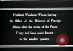 Image of Woodrow Wilson Paris France, 1919, second 5 stock footage video 65675026971