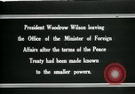 Image of Woodrow Wilson Paris France, 1919, second 11 stock footage video 65675026971